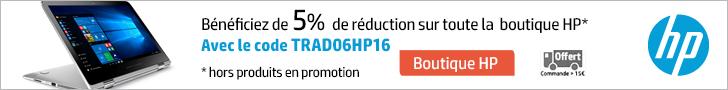 Code promo HP France Juin 2016