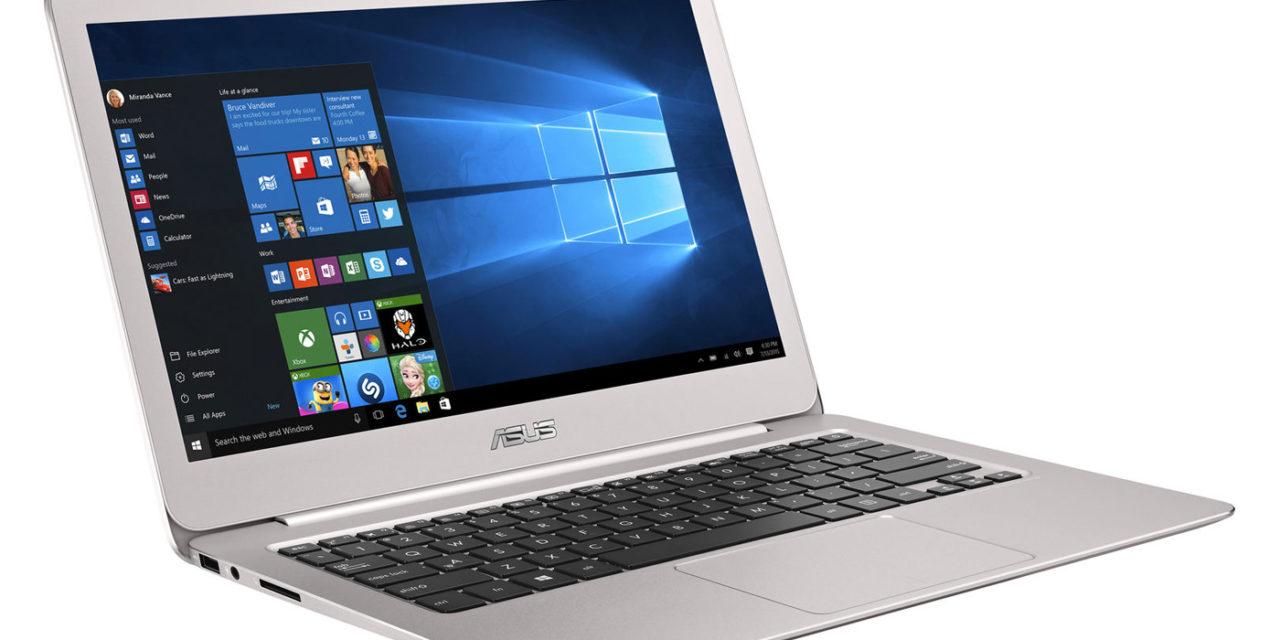 Asus Zenbook UX306UA à partir de 899€