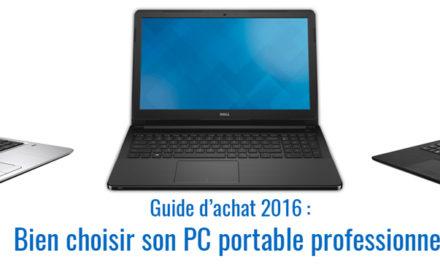 Comment bien choisir son PC portable professionnel ?