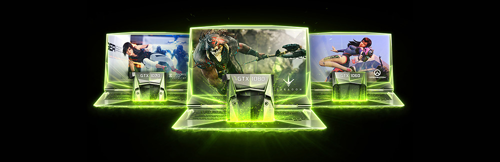 PC portable Nvidia GeForce GTX 1060 1070 1080