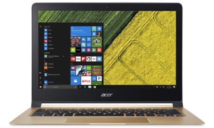 PC portable Acer Swift 7 disponible à partir de 999€