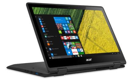 PC portable Acer Spin 5 disponible à partir de 549€