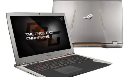 Asus ROG G701VI – un nouveau PC portable gamer à 3499€