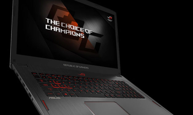 Asus ROG Strix GL702ZC : le premier PC portable gaming sous Ryzen