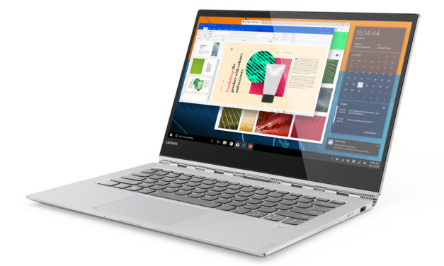 Lenovo Yoga 920 : Un Ultrabook 14» convertible 2-en-1 très haut de gamme.