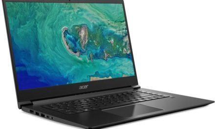 Acer Aspire 7 A715-73G : caractéristiques et disponibilité annoncées à l'IFA 2018