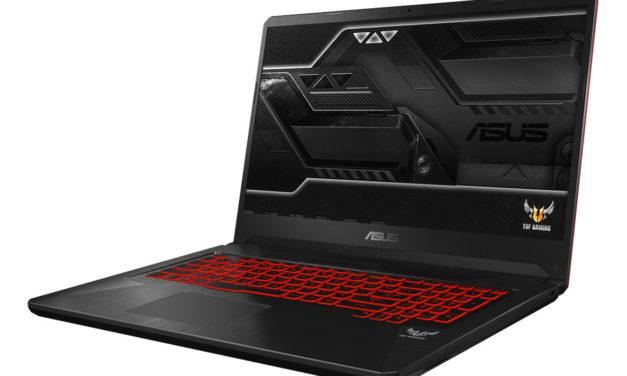 Asus Gaming TUF705 et TUF765 des PC portables pour gamer à prix modéré 5fbf2a0c9365