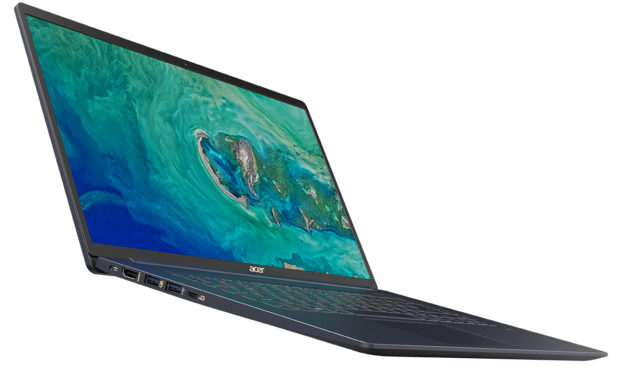 Acer Swift 5 SF515-51T (2018) l'Ultrabook de 15.6″ le plus léger du moment