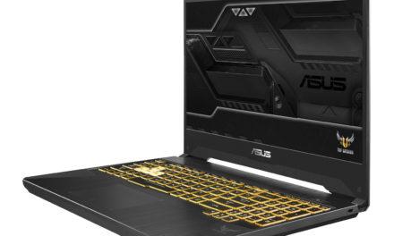 Le gaming nomade avec l'Asus Gaming TUF565 de 15,6 pouces