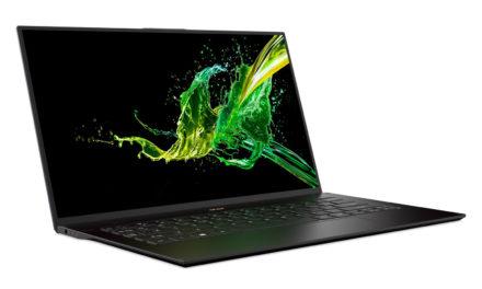 Acer Swift 7 SF714-52T : plus léger et plus puissant