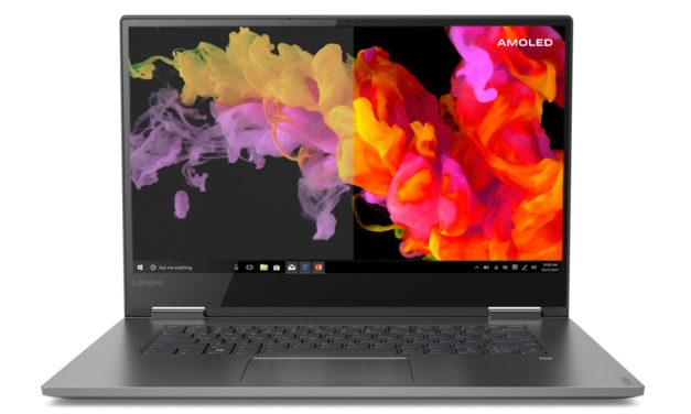 Lenovo Yoga C730 : un 15 pouces avec écran AMOLED !